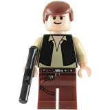 LEGO Star Wars Han Solo Magnet Set [852845] - Building Set Movie